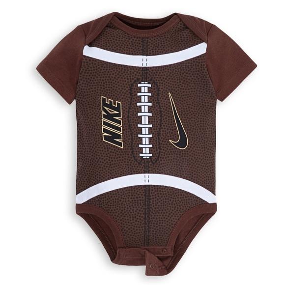 new style 21e4f ec03b Nike Sports Football One Piece Bodysuit Baby Boy